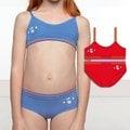【西班牙 PRINCESA】(2260) 女童無縫小可愛miss小老鼠 藍(8/10) 上衣