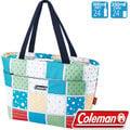 Coleman 15L保冷手提袋/便當袋 行動冰箱/外出保冰袋/折疊冰桶 公司貨 CM-27219 薄荷藍