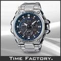 【時間工廠】全新 日限 CASIO G-Shock GPS 衛星混合電波 黑藍x銀 MTG-G1000D-1A2