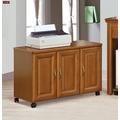【台北家福】(FG529-2)楠檜柚木色實木2.7尺二抽書桌家具