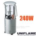 【日本 UNIFLAME】UL-X卡式瓦斯燈240W.伸縮式瓦斯野營燈.露營燈.照明燈.提燈.掛燈/電子點火.高亮度.低耗能/620106