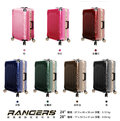 DESENO皇家鐵騎 RANGERS碳纖維紋鋁框行李箱 -28吋**出差、旅遊、旅行箱