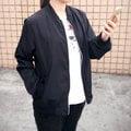 外套 韓妞最愛MA-1休閒飛行外套薄款防曬外套【C3001-1】☆CLAIR SHOP☆