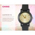CASIO 卡西歐 手錶專賣店 LQ-139EMV-9A 膠質錶帶 金面金丁字 日常防水