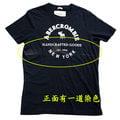 Abercrombie & Fitch 深藍經典LOGO麋鹿男生T恤(XXL)(展示品)-正面一道染色