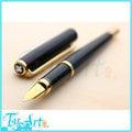 台灣製MONTREUX夢都 精緻銅管烤漆細軸鋼筆 EF尖 筆內附旋轉式吸墨器
