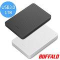 BUFFALO PCF系列2.5吋1TB USB3.0薄型硬碟