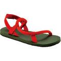 Mont-Bell 日系圓織帶休閒拖鞋/戶外涼鞋 Lock-on sandals 129398 KG/RD 卡其綠/紅