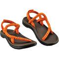 Mont-Bell 日系圓織帶休閒拖鞋/戶外涼鞋 舒適版Lock-on sandals Comfort 1129342_bn-og 條紋橘