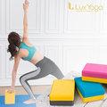 【LUX YOGA】瑜珈磚 雙色25D EVA 台灣製造 Well-Come好吉康