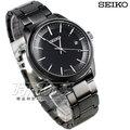 SEIKO 精工錶 SPIRIT 萬年曆 太陽能電波腕錶 IP電鍍黑色 不銹鋼帶 男錶 SBTM235J-7B24-0BJ0SD