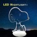 北歐 Snoopy 史努比 小夜燈 卡通 LED燈 3D立體燈 生日禮物 交換禮物 情人節禮物