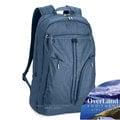 【美國 OverLand】Lassen 輕量日用型多功能後背包21L.15吋電腦背包.書包/840D抗撕裂尼龍.防潑水/洽公旅遊/OL151NBE0153 天藍
