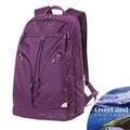 【美國 OverLand】Lassen 輕量日用型多功能後背包21L.15吋電腦背包.書包/840D抗撕裂尼龍.防潑水/自助旅行.洽公旅遊/OL161NBE0174 紫色