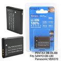 Kamera Pentax D-LI88 / SANYO DB-L80 / Panasonic VBX070高容量相機鋰電池
