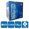 INTEL 盒裝Celeron G3900 CPU