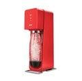 ◤限量加贈盒裝鋼瓶◢ SodaStream SOURCE氣泡水機 -紅色 全新自動扣瓶裝置,三階段氣泡含量指示