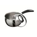 【義大利Bialetti】BELLY貝里鍋系列 -不鏽鋼單柄醬汁鍋 14cm(不含鍋蓋)