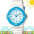 CASIO 時計屋 卡西歐手錶 LRW-200H-2B 女錶 指針錶 橡膠錶帶 多種顏色 保固 附發票