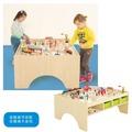 蒙氏積木遊戲桌-楓木 華森葳兒童幼兒教具傢俱設備道具遊戲 收納整理積木櫃桌木製