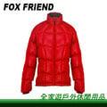 【全家遊戶外】㊣Fox Friend 狐友 女雙面羽絨外套(可搭1090款) M 暗紅色 1090I-1/單件式羽毛衣 保暖 防風