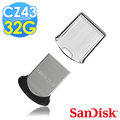 【SanDisk 新帝】CZ43 Ultra Fit USB3.0 32GB 隨身牒(公司貨)