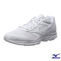 MIZUNO 美津濃 MAXIMIZER 18 男款運動鞋 全白 學生鞋 健走鞋 @(K1GA161401)
