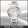【時間工廠】 全新 星辰 CITIZEN XC系列 光動能水晶玻璃氣質腕錶 FB1404-51A
