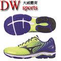 MIZUNO 男慢跑鞋 WAVE RIDER 19 SW J1GC160490