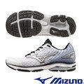 詹士 MIZUNO 美津濃 WAVE RIDER 19 男 一般型慢跑鞋 J1GC160319