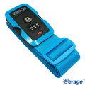 Verage 螢光TSA三碼-旅行箱 綁帶/束帶『藍』379-5302 出國 旅遊 旅行 海關鎖 打包帶 行李箱捆綁帶