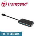 【強越電腦】Transcend 創見 TS-HUB2K USB 3.0 4-Port 集線器