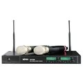 MIPRO 嘉強ACT-600 UHF嘉強無線麥克風可調頻抗4G干擾【全館刷卡分期+免運費】