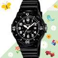 CASIO 手錶專賣店 LRW-200H-1B 女錶 兒童錶 防水100米 日期 可旋轉錶圈 膠質錶帶