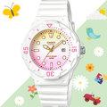 CASIO 手錶專賣店 LRW-200H-4E2 女錶 兒童錶 防水100米 日期 可旋轉錶圈 膠質錶帶
