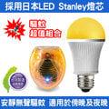 ●新瑪吉● DigiMax UP-18A5 LED驅蚊照明燈泡 防止登革熱 採用日本LED Stanley燈芯 特殊黃光波長忌避蚊蟲+O2MODA 光波驅鼠蚊器