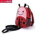 美國SKIP HOP mini backpack with rein 可愛動物園迷你背包(附防走失帶)---甲蟲