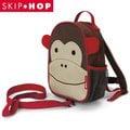 美國SKIP HOP mini backpack with rein 可愛動物園迷你背包(附防走失帶)---猴子