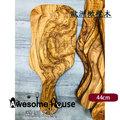 歐洲進口 橄欖木 砧板 麵包板 45x20cm (大/R)