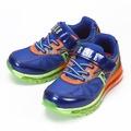 (大童) ELLE 避震氣墊運動鞋 藍螢橘 鞋全家福