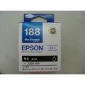 ☆EPSON 188 T188B T188150 原廠黑色墨水匣WF-3621/WF-7611/WF-7111