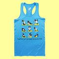 AKUMA YOGA 坦克背心 波士頓犬Abula-Yoga Practice a Day(藍色)
