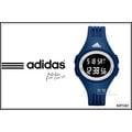 【時間道】ADIDAS愛迪達輕盈休閒運動腕錶 – 黑面白框深藍膠(ADP3267)免運費