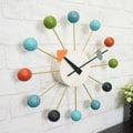 【機芯一年保固】經典彩球鐘 Ball Clock 掛鐘 外銷德國 loft風 福利品 庫存出清