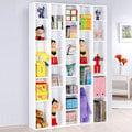 《百嘉美》H-五排書櫃(兩色可選) 收納櫃 工作桌 展示櫃 兒童椅