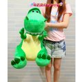 正版~綠色抱抱龍超大娃娃~高57公分~抱抱龍大玩偶~玩具總動員娃娃~抱抱龍抱枕~恐龍娃娃~生日情人節禮物~正版迪士尼