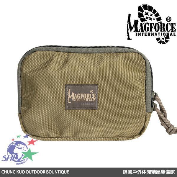 【詮國】馬蓋先 Magforce - 5*7 超薄雜物氈黏袋 / 工具收納袋 / 卡其灰 - 3525