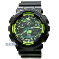【錶飾精品】現貨CASIO卡西歐G-SHOCK GA-100LY-1ADR 萊姆綠迷彩層次感 GA-100LY-1A 全新原廠正品 情人生日禮物