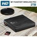 WD My Passport Wireless Pro 2TB 2.5吋 Wi-Fi 行動硬碟 外接硬碟