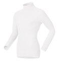 【【蘋果戶外】】odlo 152012 男高領 白『送雪襪』瑞士 機能保暖型排汗內衣 衛生衣 保暖衣